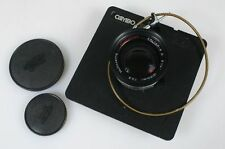 CALTAR S II 8 1/4 210MM F 5.6 ON CAMBO SC BOARD, W/FRONT AND REAR CAPS