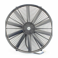 "ACP 16"" Universal Pull Radiator Cooling Fan Straight Blades Replacement Unit"