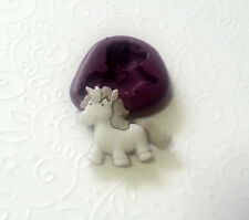 Silicone Mold Unicorn Mould (24mm) Sugarcraft Candy Clay Chocolate Jewelry PMC