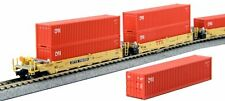 KATO 1066193 N Gunderson MAXI-I Double Stack 5 Car SET TTX  759392 106-6193- NEW