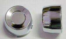 4 SHORT CENTER CAPS FOR CHEVY GMC PICKUP TRUCK 6 LUG 2.72 SHORT 4.25 BORE CHROME