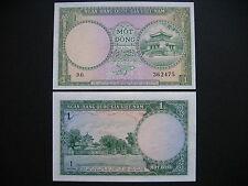 SOUTH VIET NAM  1 Dong 1956  (P1a)  UNC