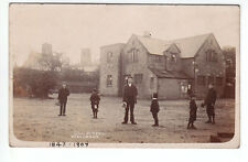 Boys At Old School Wallasey Birkenhead Wirral Cheshire 1907 Hodgson Photographer