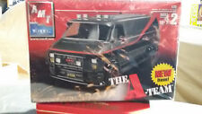 AMT 1/25 TV SHOW THE A-TEAM CHEVY VAN KIT INCLUED DRIVER FOUND IN STORAGE