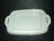 "Villeroy Boch Design Naif Butter Dish NO LID Underplate Only 8 3/4"" x 5 1/2"""