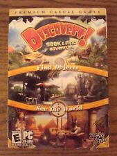 Discovery: Seek & Find Adventure (PC, 2008) Find Hidden Objects Computer Game