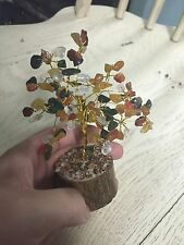 Mixed Stone Crystal Gem Tree Cluster Citrine Amethyst Quartz Etc