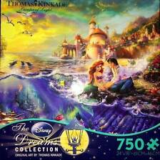 THOMAS KINKADE DISNEY DREAMS COLLECTION PUZZLE THE LITTLE MERMAID 750 PCS