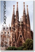 Barcelona - La Familia Sagrada - NEW World Travel Poster