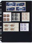 New 100 Stock Sheets 4 S(4-rows)- black stock sheets for Plate Block & S/S stamp