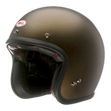 Bell Custom 500 Open Face Helmet Solid Metallic Brown XLarge XL New Style