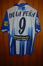 RCD ESPANYOL MATCH WORN ISSUE FOOTBALL SHIRT CAMISETA JERSEY UMBRO DE LA PENA