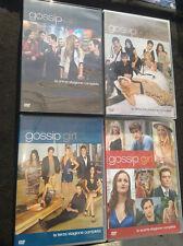3 cofanetti 15 dvd serie Gossip Girl Stagioni 1,2,3,Complete perfette