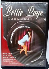 BONDAGE QUEEN - BETTIE PAGE : DARK ANGEL WIDESCREEN DVD: 1 NR SEALED CULT EPICS