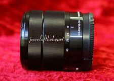 Sony SEL E Mount 18-55mm f/3.5-5.6 OSS Lens for NEX 3 5T 6 7 A5100 A6000 - Black