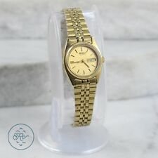Vintage | SEIKO Chronograph 12K Gold Plated Case Jubilee Band | Watch