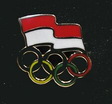 2014 NEW Olympic INDONESIA NOC Internal team - delegation NEW LOGO pin