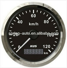 85mm Black GPS speedometer 0-120km/h for car truck CMSB-BS-120L (SV-KY08024)