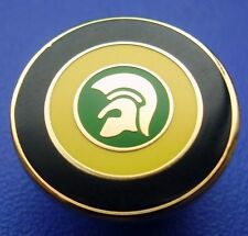 Skinhead Trojan Target Jamaica Enamel Pin Badge - Yellow, Green & Black