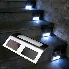 Stairs Solar LED Path Light Lamp White Decor Outdoor Home Party Garden Yard New