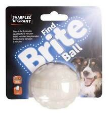 S & G FIND BRITE BALL DOG TOYS BLUE LED BRIGHT LIGHT UP BALL THROW TOY 566207