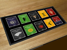 Game Of Thrones House Crests Beer bar runner Cocktail Partys