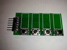 Handy QUAD Buttons for (SBB) solderless bread board prototyping and testing