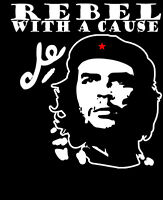 CHE GUEVARA CUBA REVOLUTION MENS T-SHIRT REBEL WITH A CAUSE COMMUNIST COOL