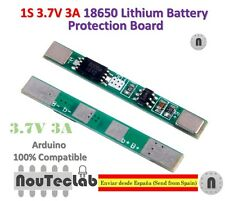 1S 3.7V 3A li-ion BMS PCM battery protection board 18650 lithium battery