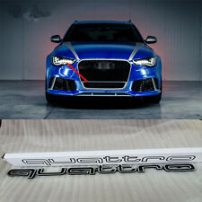 FOR AUDI QUATTRO GRILL LARGE LOGO EMBLEM A3 A4 A5 A7 TT RS5 RS4 A1 Q7 RS3 RS6