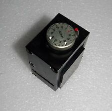 """MICROSCOPE X STAGE WITH 0-60 MM DIAL 0.01MM INCREMENTS 3.5 X 2.5"""" X 2"""""""