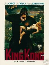vintage original king kong movie fine art print collectable poster picture 60x80