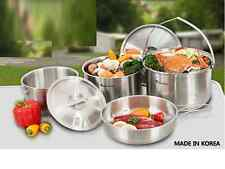 Camping Outdoor Cookware Cook Set Cooking Set Stainless steel (for 7~8 People)