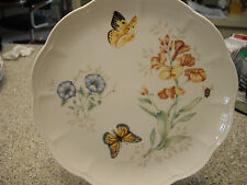 LENOX CHINA Dinner Plate Plate BUTTERFLY MEADOW MONARCH LN