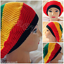 African Hat Men and Women Warm Winter Braided Knit Beanie Cap Ski Hat Beret