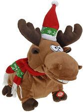 Novelty 23cm Singing Reindeer Dancing Christmas Reindeer Christmas Decoration