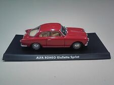 DIECAST 1/43 ALFA ROMEO GIULIETTA SPRINT ROT - ITALIAN CAR SOLIDO MODEL IT6