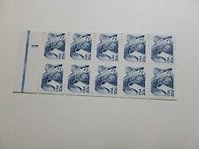 United States Scott 1949a, the American Longhorn Sheet Booklet Plane of 10 MINT
