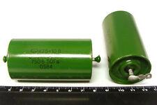 3pcs 0.33uF 750V K75-10 0,33 Big Hybrid PIO Audio Capacitors PAPER IN OIL PIO