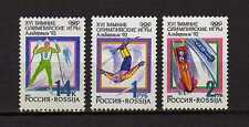 15235) RUSSIA 1991 MNH** Nuovi** Winter Olympic Games