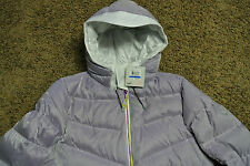 PUMA CELL Thermal Down Hoodie Puff Jacket Coat XL NWT$300 Lavender! Logo's