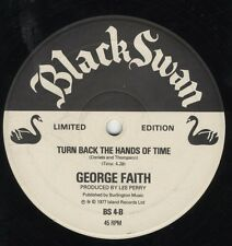 "George Faith ‎– Midnight Hour ORIG UK 12"" EX 1977 BLACK SWAN ROOTS LEE PERRY"