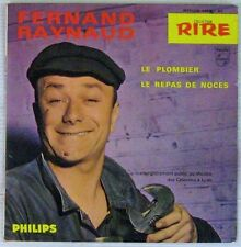 Fernand Raynaud 45 tours Le plombier 1964