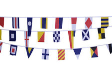 Nautical Flag Bunting 100% Polyester Fabric 12.5 Metres Long New