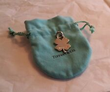 Authentic Tiffany & Co 4 leaf clover charm NEW