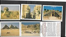 PLAYER'S  / TOM THUMB - WONDERS OF THE ANCIENT WORLD - 1984 -FULL SET IN SLEEVES
