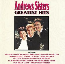 THE ANDREWS SISTERS : GREATEST HITS / CD (CURB RECORDS D2-77400) - NEUWERTIG