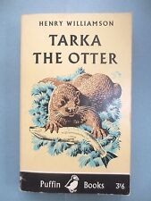 VINTAGE PUFFIN Book TARKA THE OTTER Henry Williamson C F Tunnicliffe 1967