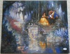 PAIGE O' HARA VOICE OF BELLE SIGNED BEAUTY & THE BEAST 16x20 INSCRIBED PHOTO PSA