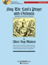 Sing the Lord's Prayer with Orchestra for Medium Voice (Book with CD), , Good Bo